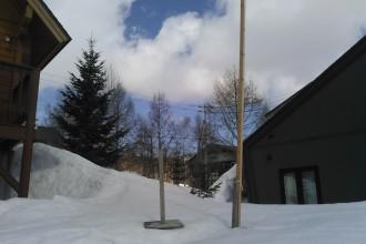 積雪降雪観測.